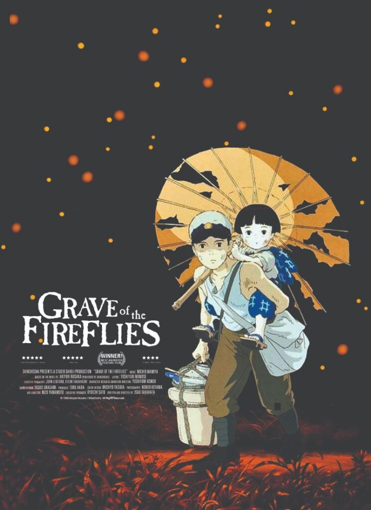 Grave Of The Fireslies - Anime Film