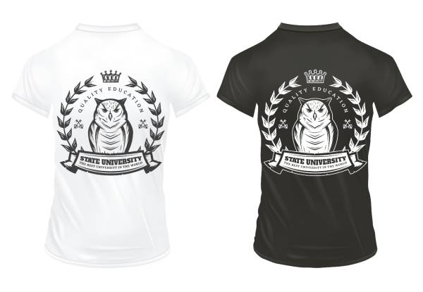Baykuş Desenli Tişört