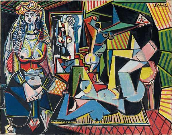 Cezayirli Kadınlar - Pablo Picasso (1955)