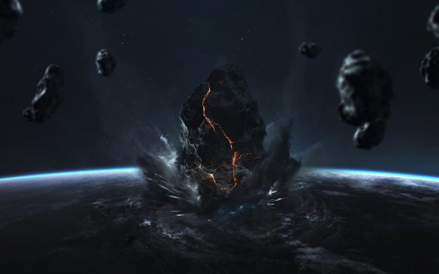 Dünya'ya Çarpan Asteroit