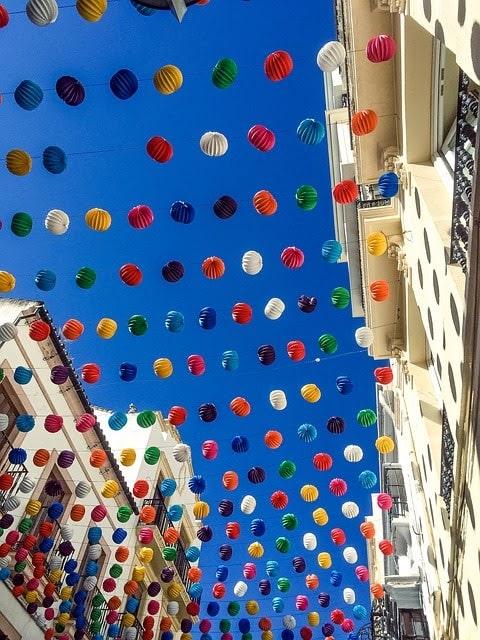 İspanya Yılbaşı Balonları