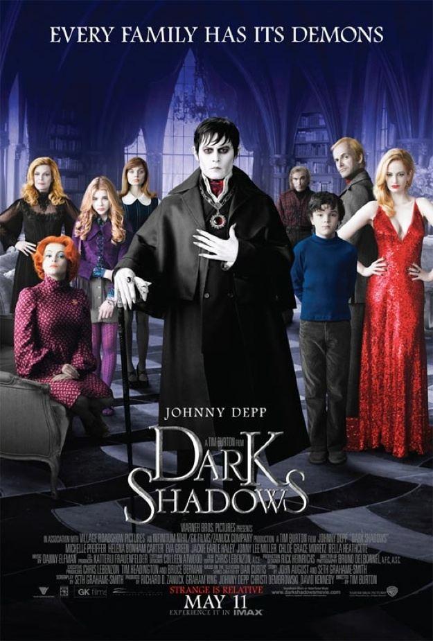 Karanlık Gölgeler Film Afişi