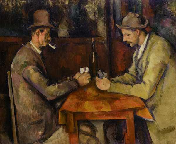 Kart Oyuncuları  - Paul Cézanne (1892 - 1893)