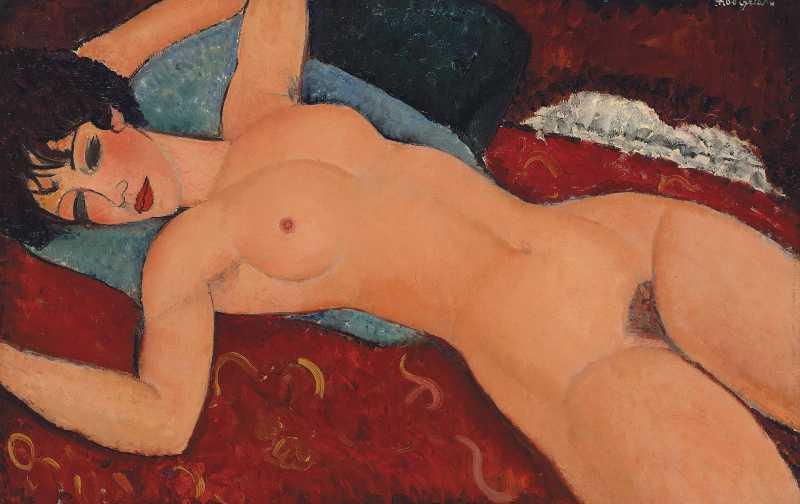 Nu couché - Amedeo Modigliani (1917 - 1918)