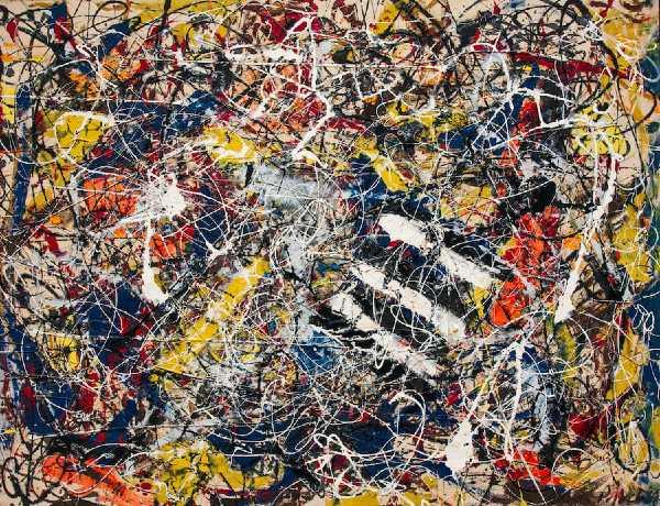 Number 17A - Jackson Pollock (1948)