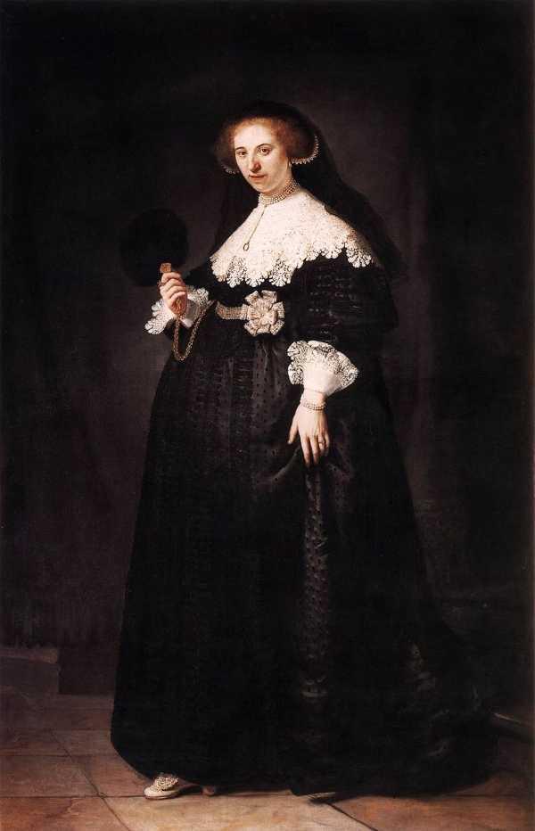 Oopjen Coppit Portresi - Rembrandt