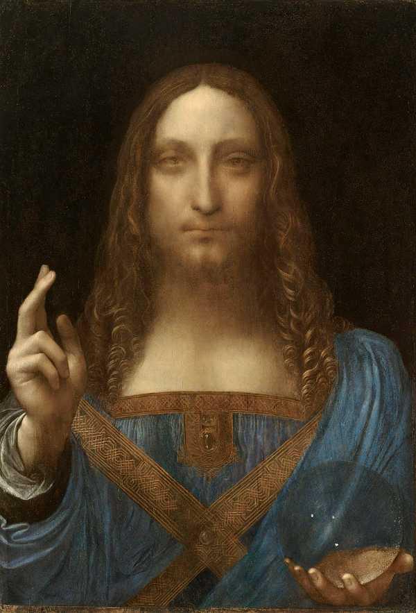 Salvator Mundi - Leonardo Da Vinci (1500)