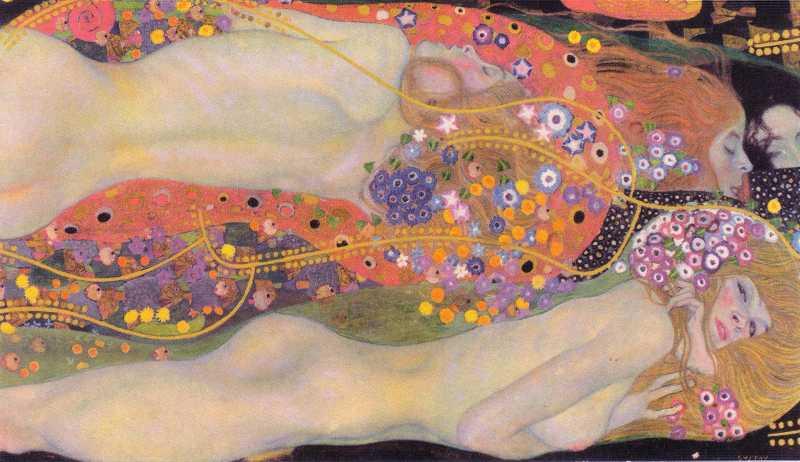 Wasserschlangen II - Gustav Klimt (1904 - 1907)