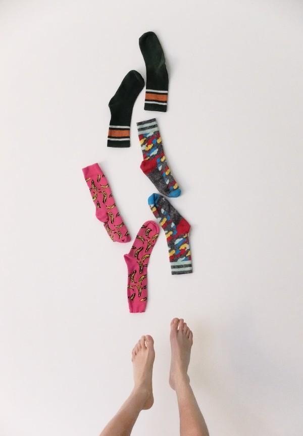 Yılbaşı Hediyesi Rengarenk Çoraplar